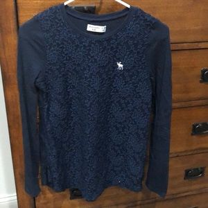 Girls Abercrombie shirt like new